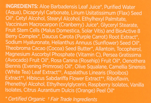 Luminous Night Cream Purple Carrot + C Brightening 1.7oz 50 G