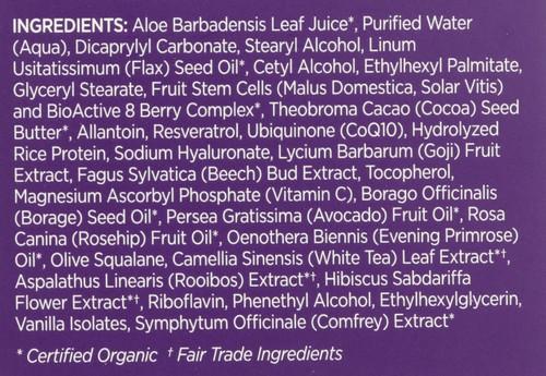 Night Repair Cream Resveratrol Q10 Age Defying 1.7oz 50 G
