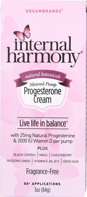Internal Harmony Progesterone Cream