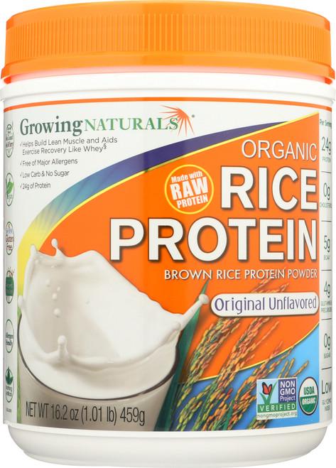 Organic Rice Protein Powder Original - 1 Lb Chocolate Power
