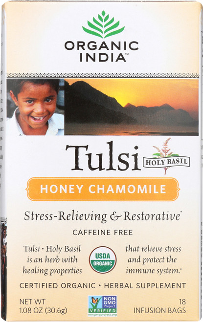 Tulsi Tea Honey Chamomile