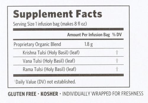 Tulsi Tea Original Holy Basil 18 Bag 1.14 G