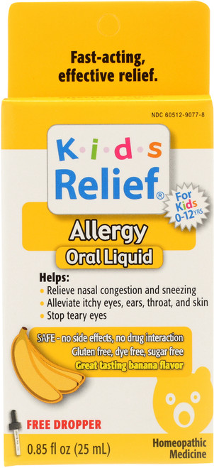 Kids Relief Allergy Banana Banana Flavor