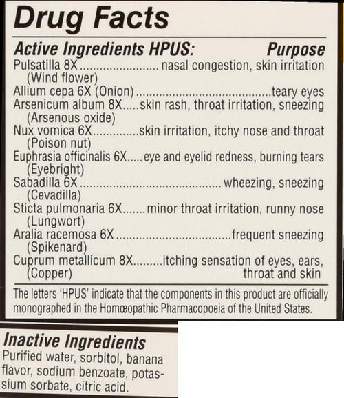 Kids Relief Allergy Banana Banana Flavor Allergy Oral Liquid 0.85 Fl oz 25 Ml