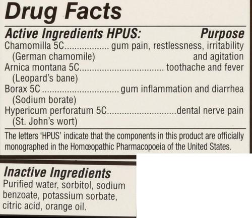 Kids Relief Teething Orange Orange Flavor Teething Oral Liquid 0.85 Fl oz 25 Ml