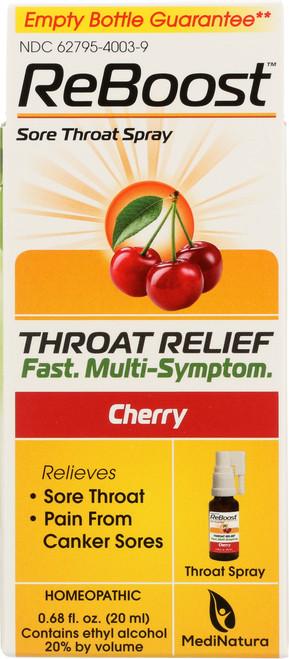Reboost™ Sore Throat Spray Reboost™ Throat Spray - Cherry