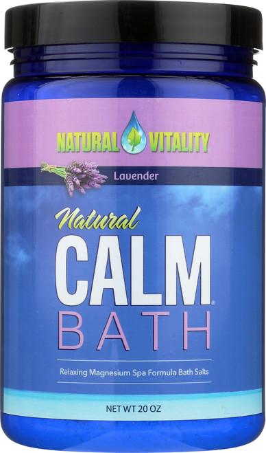 Natural Calm Bath Lavender