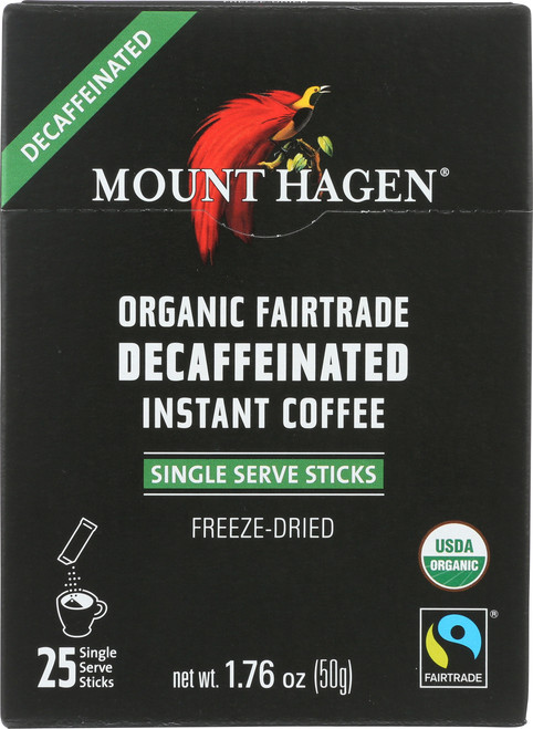 Decaffeinated Instant Coffee Freeze-Dried