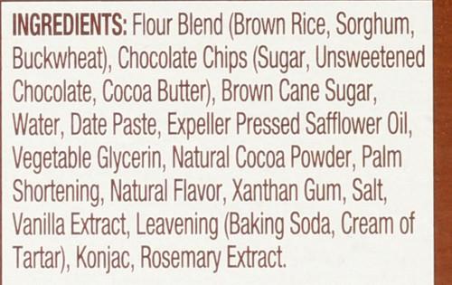 Mini Cookies Double Chocolate Brownie Soft Baked 6 Packs 6oz