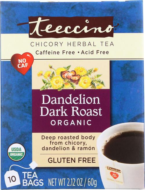 Chicory Herbal Tea Dandelion Dark Roast