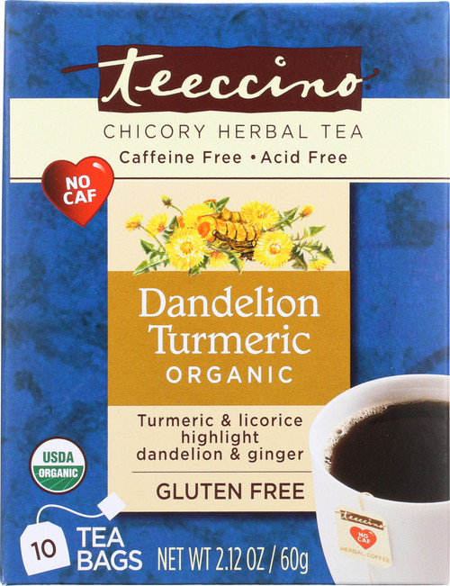Chicory Herbal Tea Dandelion Tumeric