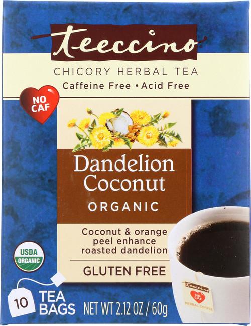 Chicory Herbal Tea Dandelion Coconut
