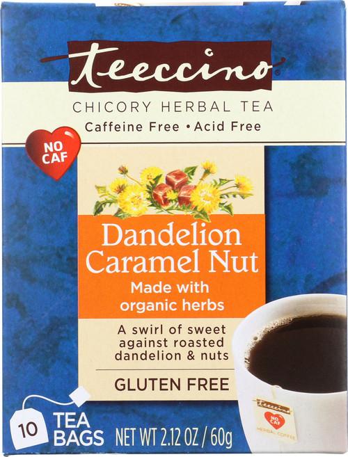 Chicory Herbal Tea Dandelion Caramel Nut