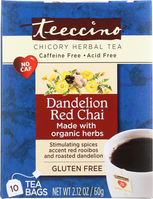 Chicory Herbal Tea Dandelion Red Chai