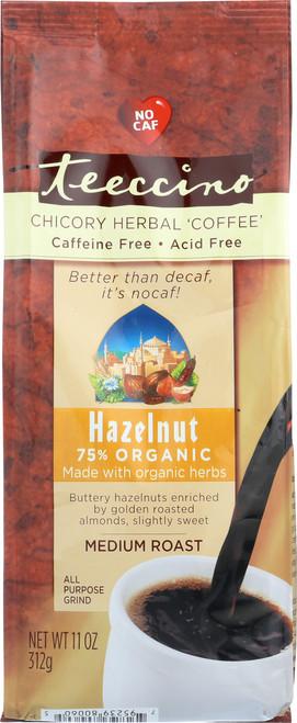 Chicory Herbal Coffee Alternative Hazelnut 75% Organic