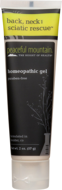 Homeopathic Gel Back, Neck And Sciatic Rescue