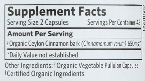 Cinnamon  90 Vegetarian Capsule