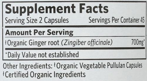 Ginger  90 Vegetarian Capsule