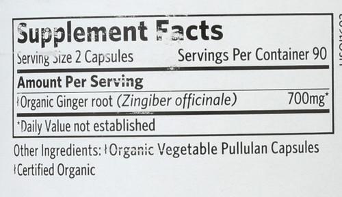 Ginger  180 Vegetarian Capsule