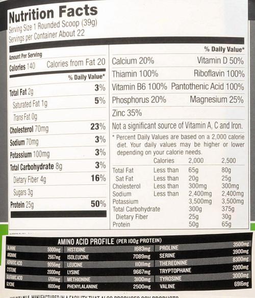 Protein Powder Mix Vanilla Cookies & Cream Whey Advanced 1.85 Lb 840 G