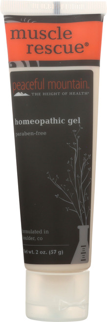 Homeopathic Gel Muscle Rescue