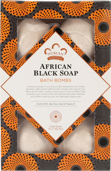 Bath Bombs African Black Soap