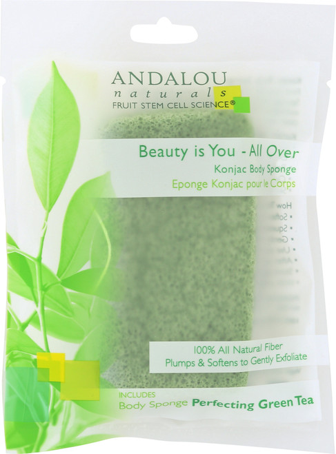 All-Over Konjac Body Sponge