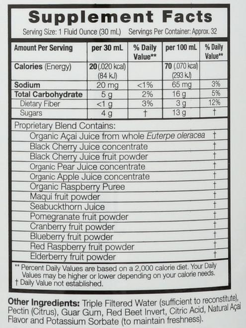Juice Acai Plus 32 Fl oz 946 Ml