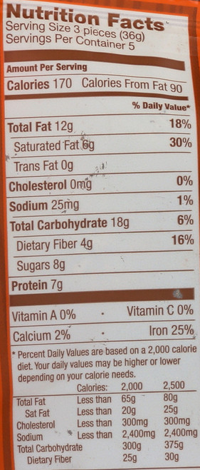 Snack Proburst Bites Chocolate Cinnamon Spice 6.4oz 180 G
