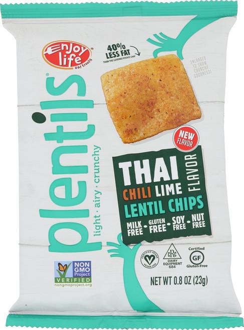 Lentil Chips Thai Chili Lime Flavor