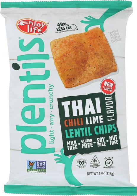 Plentils Lentil Chips Thai Chili Lime