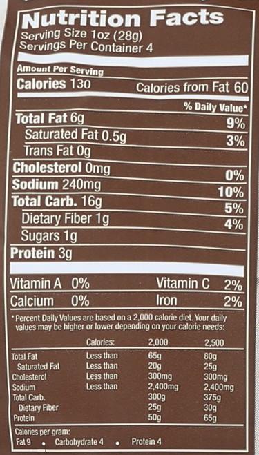 Plentils Lentil Chips Morrocan Spice 4oz 113 G