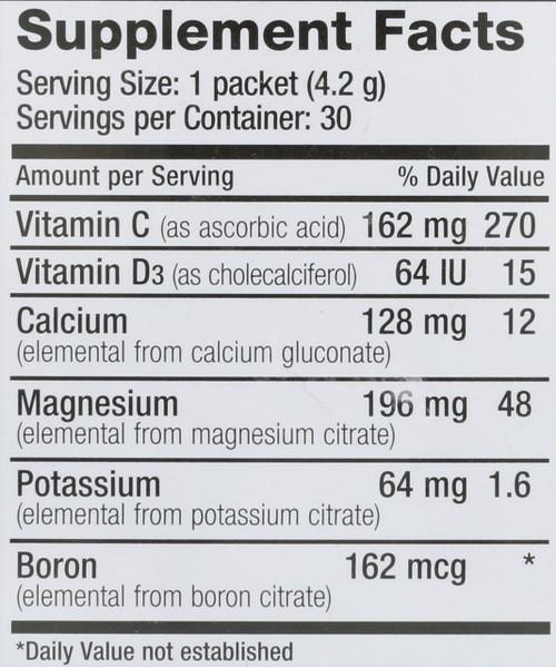 Natural Calm Plus Calcium Original (Unflavored) Magnesium 30 Packs 0.15oz
