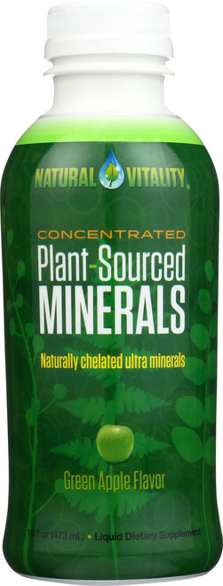 Plant Sourced Minerals Green Apple