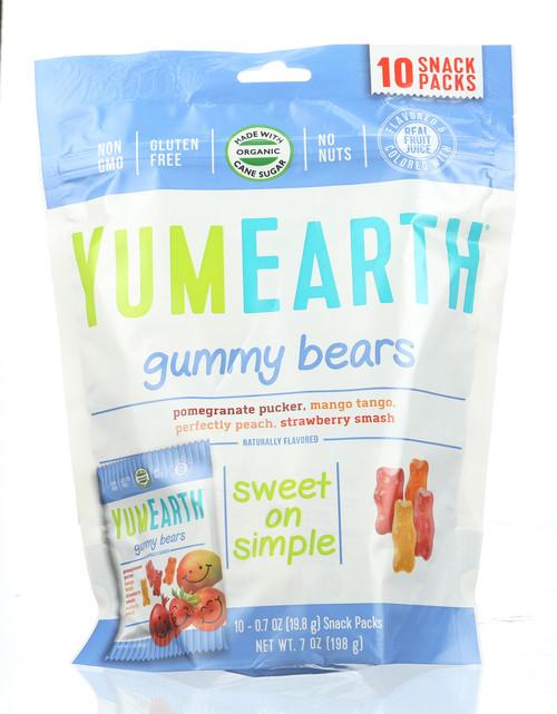 Gummy Bears Pomegrante Pucker, Mango Tango, Perfectly Peach, Strawberry Smash