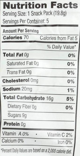 Organic Sour Twists Watermelon Lemonade 0.7oz 19.8 G