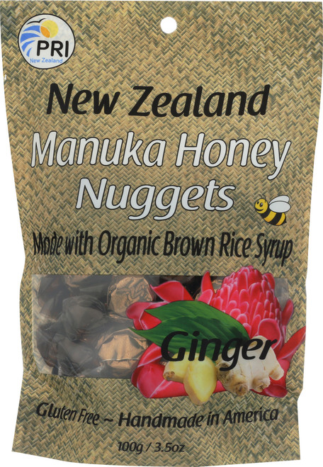 Manuka Honey Nuggets Ginger