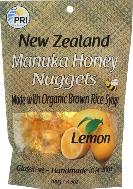 Manuka Honey Nuggets Lemon
