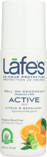 Deodorant Roll On Active Citrus & Bergamot