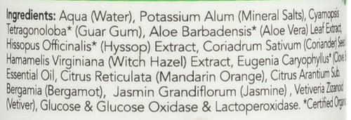 Deodorant Roll On Active Citrus & Bergamot 2.5 Fl oz 73 Ml
