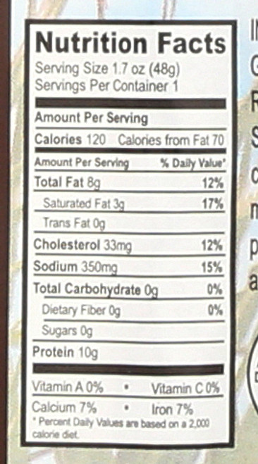 Snack Sticks Original Grass - Fed Beef 1.7oz 48 G