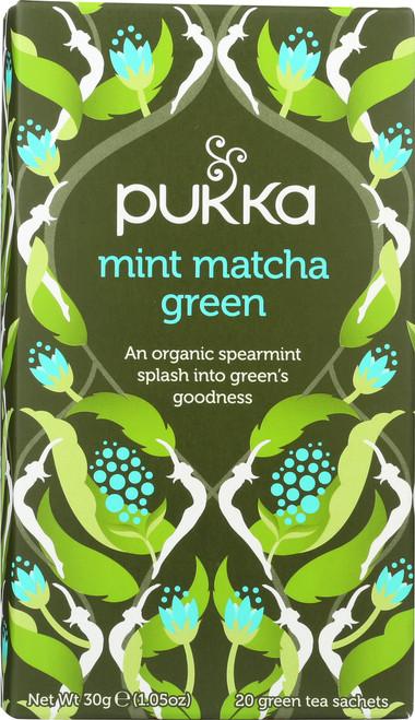 Organic Herbal Tea Mint Matcha Green