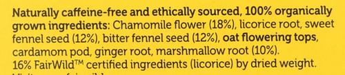 Organic Herbal Tea Relax 20 Sachets 40 G