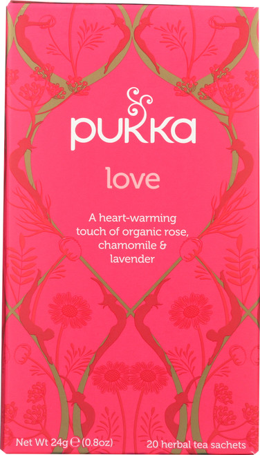Organic Herbal Tea Love