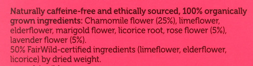 Organic Herbal Tea Love 20 Sachets 24 G