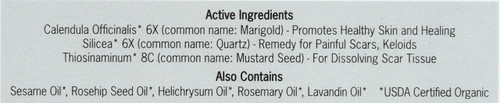Scar Control Homeopathic Natural Treatment Organic 0.37oz 11 Ml