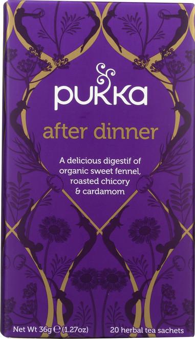 Organic Herbal Tea After Dinner