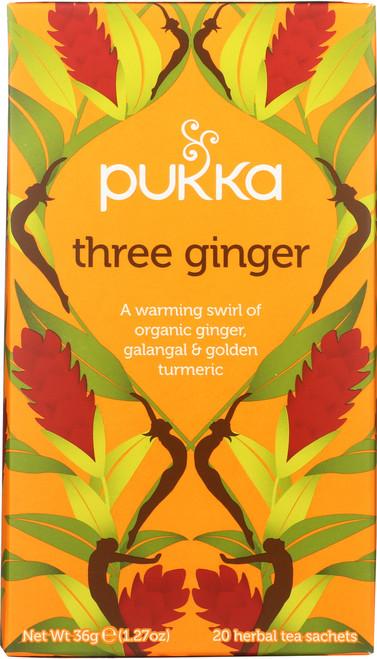 Organic Herbal Tea Three Ginger