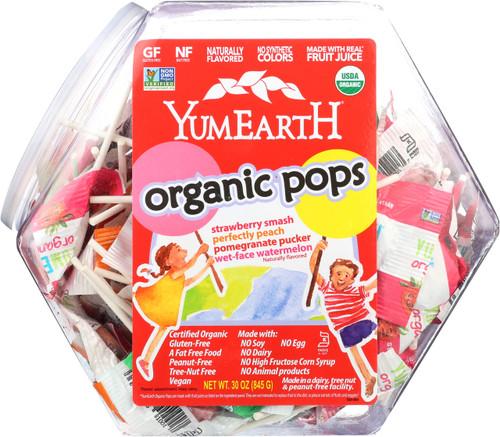 Counter Top Assorted Fruit Lollipops Bin