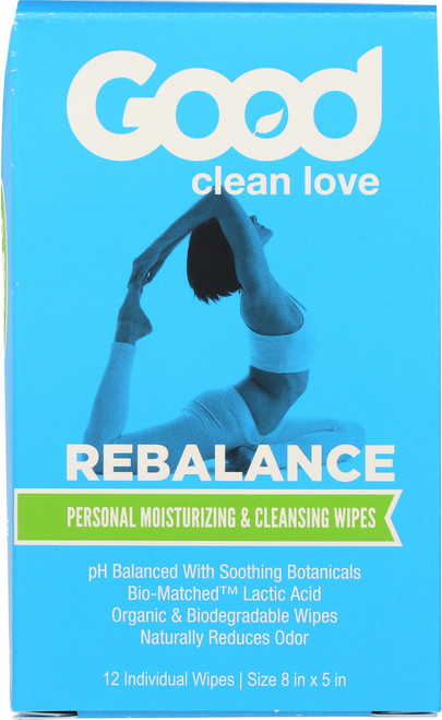 Wipes Rebalance Moisturizing